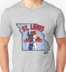 St. Louis Blues/Cardinals Mascot Mash-Up T-Shirt