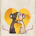 A Love card by Jandzart013
