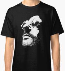 Lèon Movie Black and White Vectorized <3 Classic T-Shirt