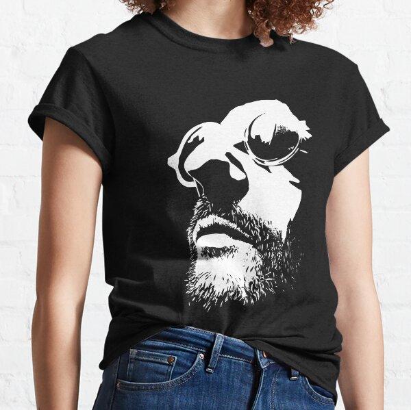 Film Lèon noir et blanc vectorisé <3 T-shirt classique