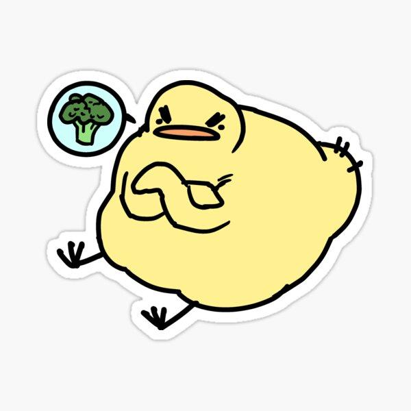 Picky Birdblob Sticker