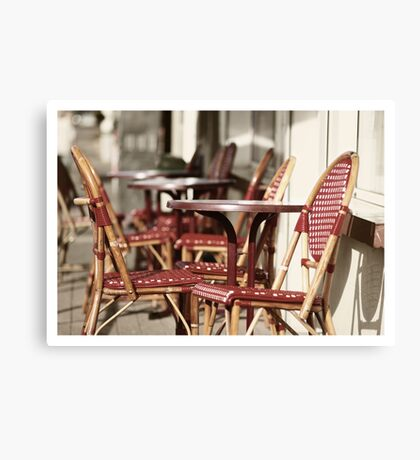 French terras Canvas Print
