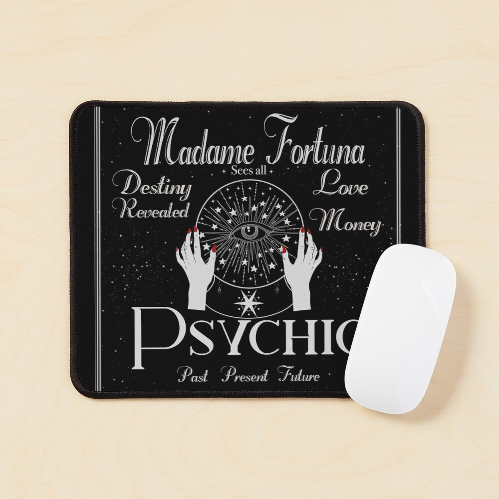 Madame Fortuna Sees All Mouse Pad