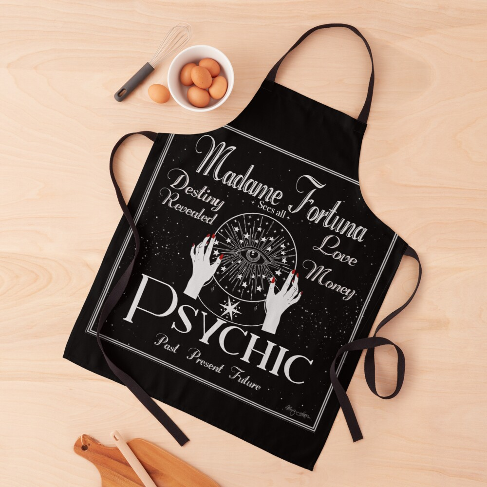 Madame Fortuna Sees All Apron
