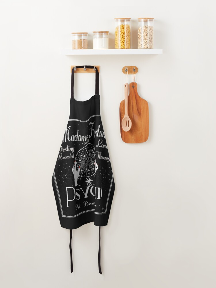 Alternate view of Madame Fortuna Sees All Apron