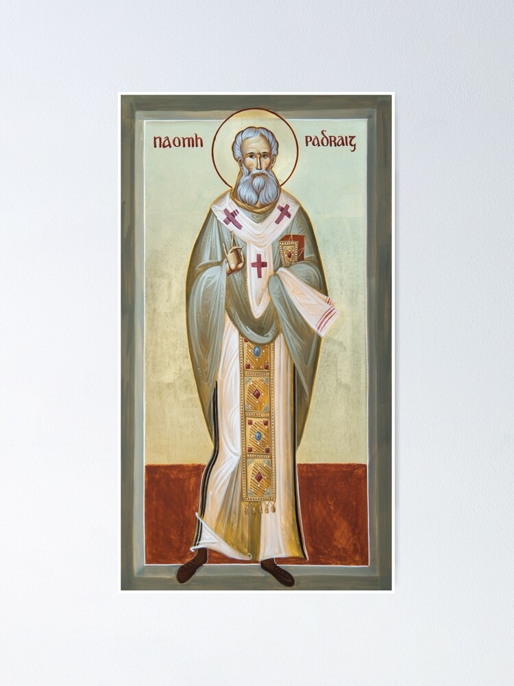 Alternate view of St Patrick of Ireland Poster