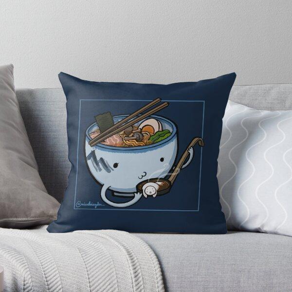 Ramen :: Carnivorous Foods Series Throw Pillow