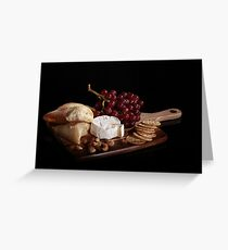 Savory Food Styling Greeting Card