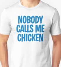 Back to the Future 'Chicken' quote T-Shirt