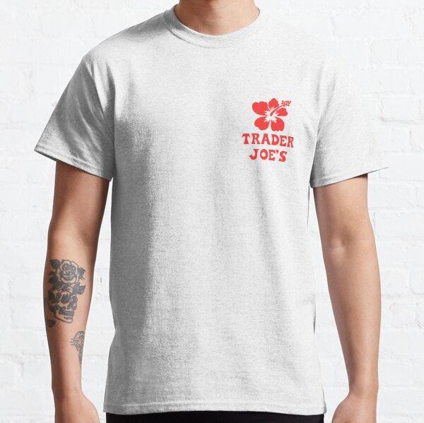 Trader Joe's Fan Hibiscus Flower Badge Classic T-Shirt