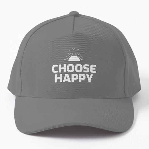 Choose Happy Baseball Cap