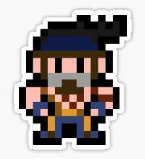 Pixel Jago Sticker
