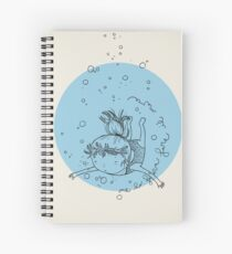 The sea make me do it Spiral Notebook