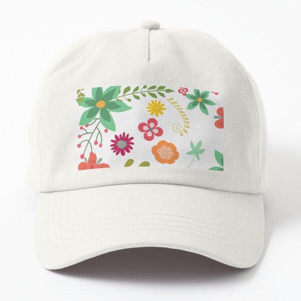 Floral Design 023 Dad Hat