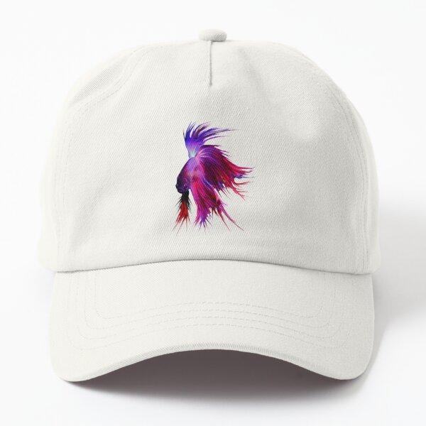 Betta Splendens ;Siamese fighting Fish Dad Hat