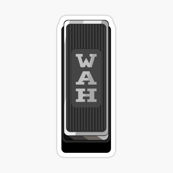 Wah Pedal Sticker