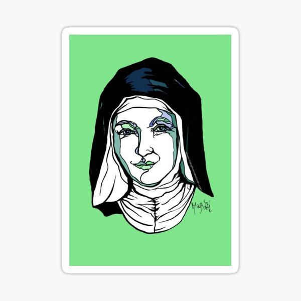 Hildegard von Bingen Sticker