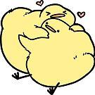 Hug Birdblob by Sabtastic