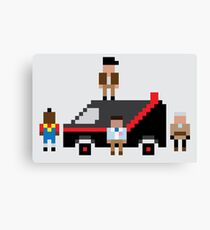 A Pixel Team Canvas Print