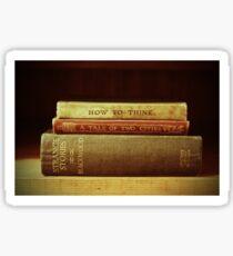 Book lover Sticker
