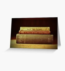 Book lover Greeting Card