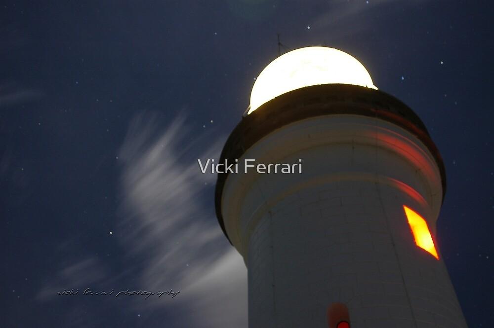 Byron Bay Moon © Vicki Ferrari by Vicki Ferrari
