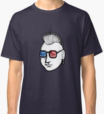 Captain Punk 3D Classic T-Shirt