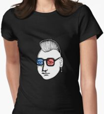 Captain Punk 3D Women's Fitted T-Shirt