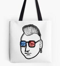 Captain Punk 3D Tote Bag