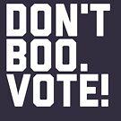 «No Boo. ¡Votar!» de AngryMongo