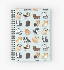 Dogs Spiral Notebook