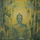Emerging Buddha by Yuliya Glavnaya