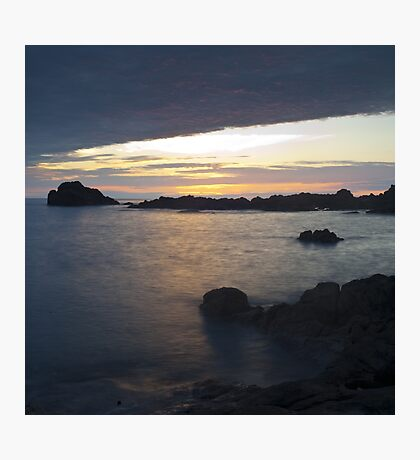 Sunset over Japan Photographic Print