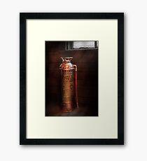 Fireman - Alert  Framed Print