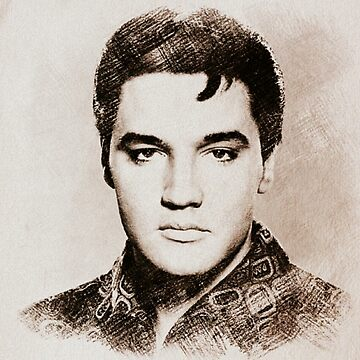 Digital sketch of Elvis Presley 03 by fantasytripp