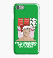 I'm Dreaming of A Shite At Xmas! iPhone Case/Skin