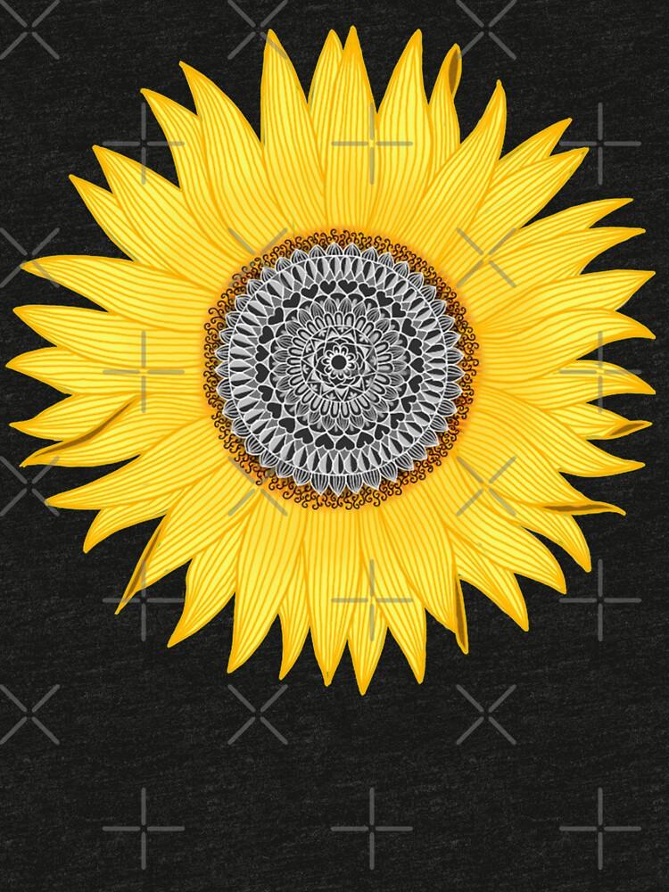 Mandala Sunflower by paviash