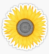 Mandala Sunflower Sticker