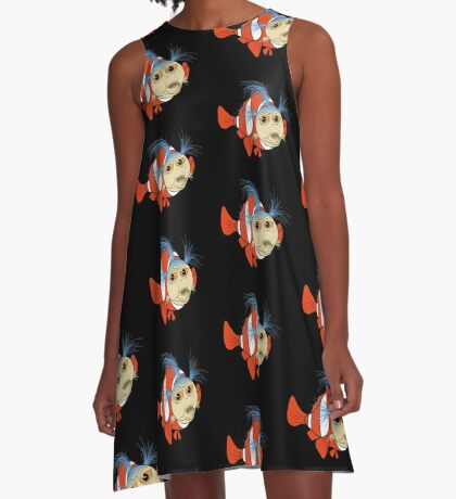 Finding emo in the labyrinth A-Line Dress