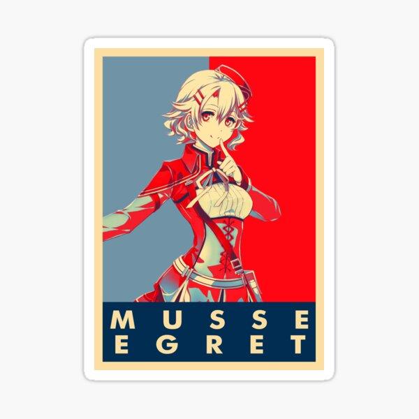 MUSSE EGRET Sticker