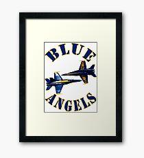 Blue Angels Framed Print