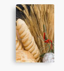 bread basket Canvas Print