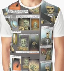 Hugo [plays with zombies] - page 1 Graphic T-Shirt