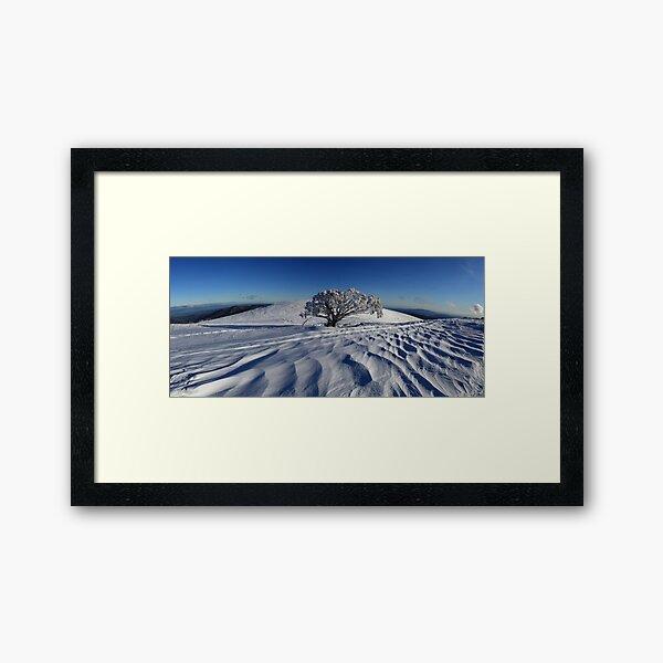 Endurance.  Mt Stirling  Framed Art Print