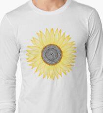 Golden Mandala Sunflower T-Shirt