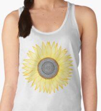 Golden Mandala Sunflower Women's Tank Top