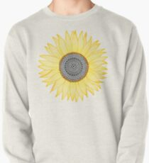 Sudadera cerrada Golden Mandala Sunflower