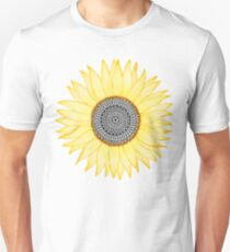Golden Mandala Sunflower T-Shirt