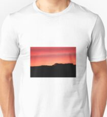 Sunset over the hills T-Shirt