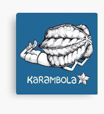 Karambola Canvas Print